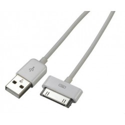Cable Iphone/Ipad 30 Pin Datos y Carga