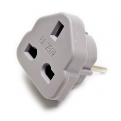 Adaptador enchufe Usa-Europa
