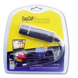 Capturadora Easy Cap USB
